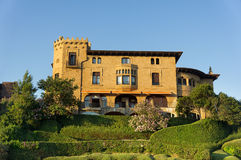 Mansion in Neguri, Getxo. Royalty Free Stock Photos