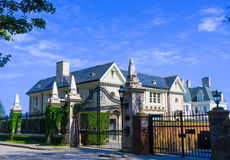 Mansion of  Newport Rhode Royalty Free Stock Images
