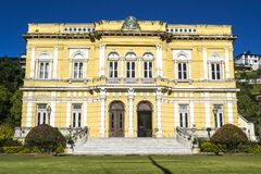 Free Mansion Of The Presidents Of Brazil In Petropolis Royalty Free Stock Photos - 102358338