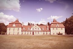 Mansion in Poland Stock Photo