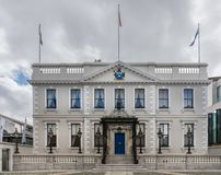 The Mansion Room Banquet Hall in Dawson Street, Dublin Ireland. Royalty Free Stock Image