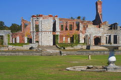 Mansion ruins Stock Image