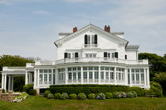 Mansion on Sheep Point Cove - Newport - Rhode Island. Mansion on Sheep Point Cove in Newport - Rhode Island royalty free stock photos