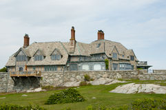 Mansion on Sheep Point Cove - Newport - Rhode Island. Mansion on Sheep Point Cove in Newport - Rhode Island stock image
