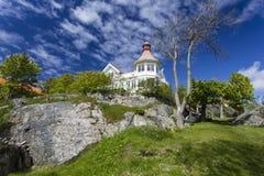 Mansion at Styrso. Of Bohuslan Coast, Sweden royalty free stock photos