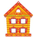 Mansion. For table puppet theater to play with children Royalty Free Stock Images