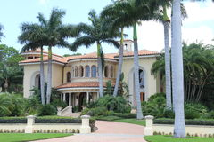 Mansion in Tampa Florida Royalty Free Stock Photography