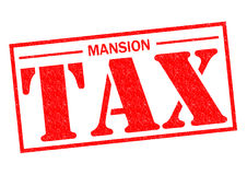 MANSION TAX Royalty Free Stock Photos