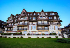 Mansion in Trouville, Normandy, France Royalty Free Stock Photography