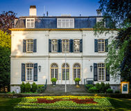 Mansion in Voorburg, The Netherlands. Voorburg, a suburb of The Hague, is a Dutch town and former municipality in the western part of the province of South Royalty Free Stock Photography