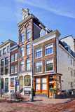 Mansiones antiguas en Herengracht, Amsterdam, Países Bajos Fotos de archivo