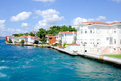 Mansions - Bosporus Royalty Free Stock Photos