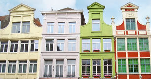 The mansions of Ghent Royalty Free Stock Photography