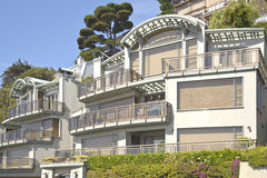 Mansions home in Sausalito California. Royalty Free Stock Photography
