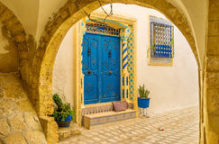 The mansions of Sousse royalty free stock photography