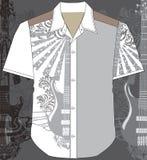 manskjorta Stock Illustrationer