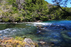Manso River - Patagonia - Argentina stock images