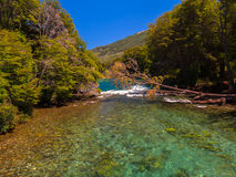 Manso river Royalty Free Stock Image