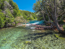 Manso river. (Rio Manso) - Bariloche - Patagonia - Argentina Royalty Free Stock Image