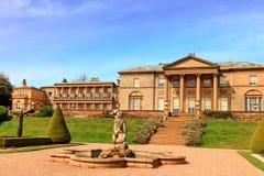 Mansão velha histórica do salão em Cheshire, Reino Unido Foto de Stock Royalty Free