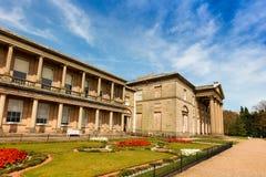Mansão velha histórica do salão em Cheshire, Reino Unido Imagem de Stock