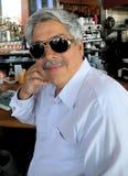 mansolglasögon Fotografering för Bildbyråer