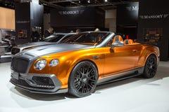 Mansory Bentley Continental GTC imagens de stock royalty free