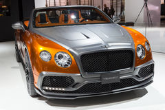 Mansory Bentley Continental GTC Royalty Free Stock Image