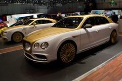Mansory Bentley Flying Spur in Genf 2016 Lizenzfreie Stockbilder