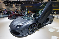Mansory Carbonado Lamborghini Aventador Royalty Free Stock Photo