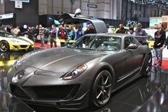 Mansory, das Mercedes justiert Stockfoto