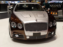 Mansory Flying Spur Geneva 2014 Royalty Free Stock Photos