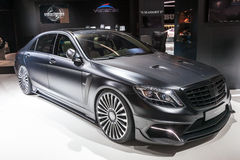 Mansory Mercedes S600 at the IAA 2015 Royalty Free Stock Images