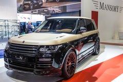 Mansory Range Rover bij IAA 2015 Royalty-vrije Stock Afbeeldingen