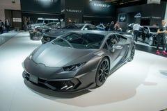 Mansory Torofeo op Lamborghini Huracan wordt gebaseerd die Stock Afbeelding
