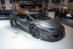 Mansory Torofeo op Lamborghini Huracan wordt gebaseerd - Wereldpremière die Stock Afbeelding