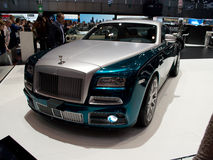 Mansory Wraith Geneva 2014. Geneva, 84th Salon de lAuto 2014 Royalty Free Stock Photo