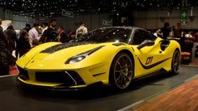 Mansory 4XX Siracusa in Genève 2016 Stock Afbeeldingen