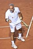 Mansour Bahrami, iranischer Tennisspieler im Ruhestand lizenzfreie stockfotografie