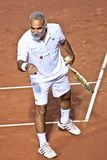Mansour Bahrami, przechodzić na emeryturę Irański gracz w tenisa fotografia royalty free
