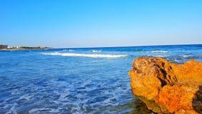 Mansoura Beach Royalty-vrije Stock Afbeeldingen