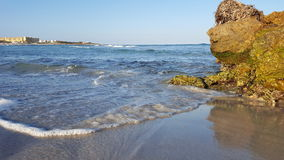 Mansoura Beach - Kelibia - Tunisien Royaltyfria Bilder