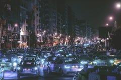 Mansoura市& x28;Mashaya st & x29; 免版税库存照片