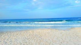 Mansoura plaża Zdjęcie Royalty Free