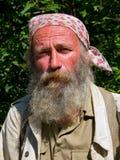 manstående för 10 skägg Arkivfoto