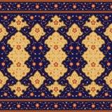 Mansur Blumen-Rand Stockfotos