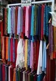 Mantón de la seda de la cachemira Imágenes de archivo libres de regalías