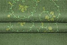 Mantón verde del pashmina Fotos de archivo libres de regalías