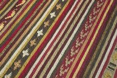 Manta étnica Foto de archivo libre de regalías