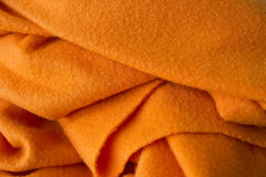 Manta anaranjada Fotos de archivo libres de regalías